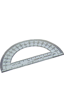 Protractor 6in Clear Charles Leonard #77106