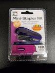 Mini Stapler Kit w/1000 Staples #82000