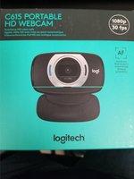 Logitech Webcam HD C615 Portable 1080p Black