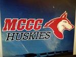 MCCC Decal Huskies