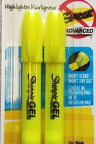 Sharpie Gel Stick 2pk Yellow #1780473