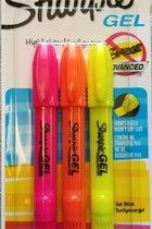 Sharpie Gel Highlighter 3pk