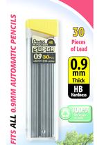 Pentel Lead 0.9mm HB 30 pieces