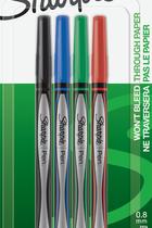 Sharpie Pen 4pk Asst Fine #1742662