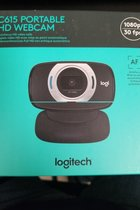 Logitech Webcam HD C615 Portable 1080p Black